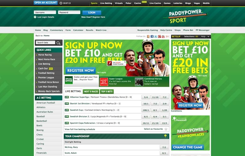 Paddy Power Bet