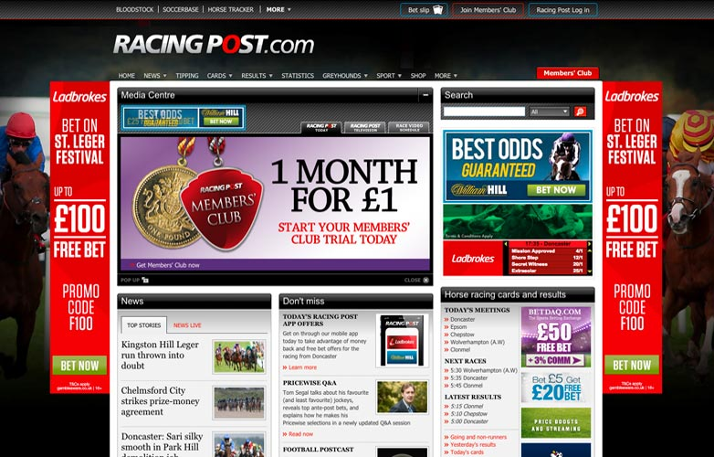 racing post betting