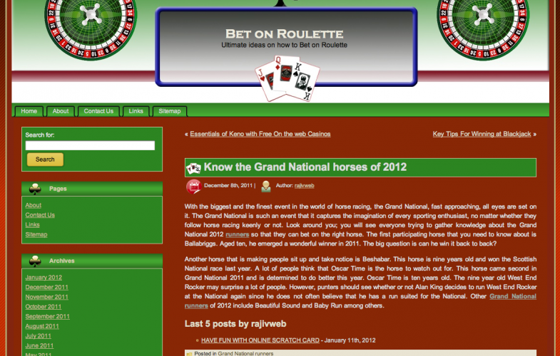 Bet On Roulette