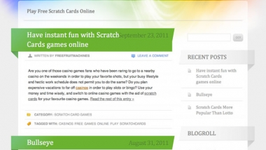 Scratch Cards Blog