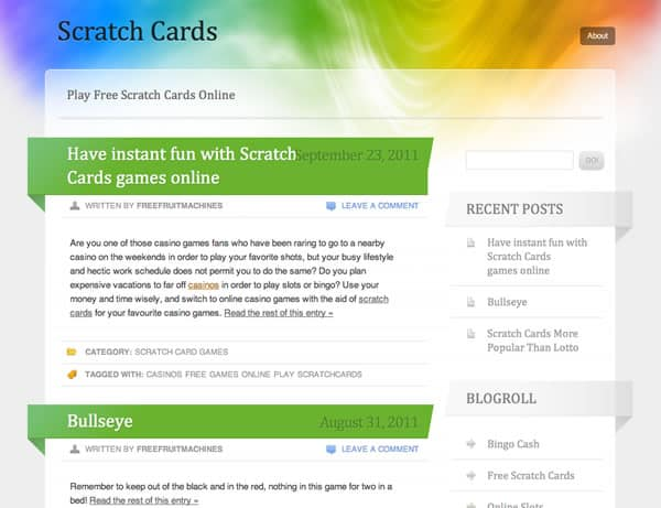Scratch Cards Blog